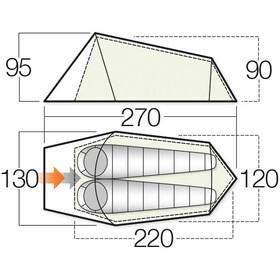 Vango Soul 200 Tent Apple Green